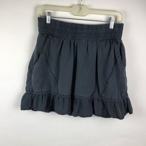Athlete Ladies A-Line Charcoal Skirt - XS
